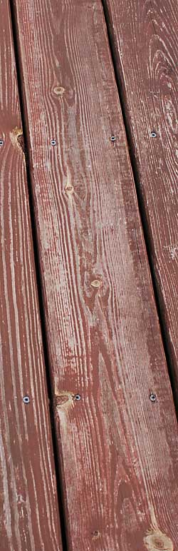 The Painted Surface How to Stain an Old Deck Using Behr DeckOver