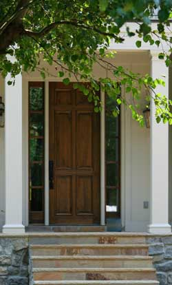 The Painted Surface Front Door Colors