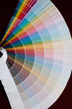 The Painted Surface Tips For Choosing Paint Colors