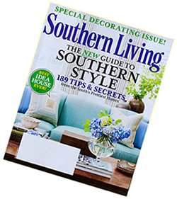 Cover of August 2013 publication of Southern Living.