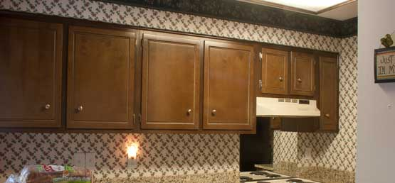 The Painted Surface How To Paint Kitchen Cabinets Page 1