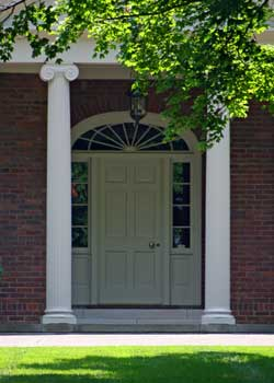 Choosing the front door color & The Painted Surface - Front Door Colors