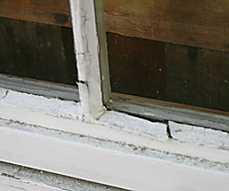 The Painted Surface How To Reglaze Or Putty A Window